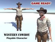 Западный ковбой 3d model