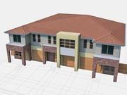 Townhouse 04 3d model