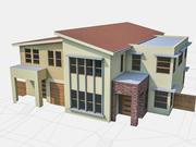 Townhouse 05 3d model