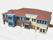 Townhouse 06 3d model