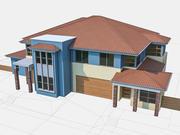 Townhouse 08 3d model