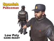 Poliziotto spagnolo 3d model