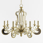 John Richard Signature Chandelier Ceiling Light 3d model