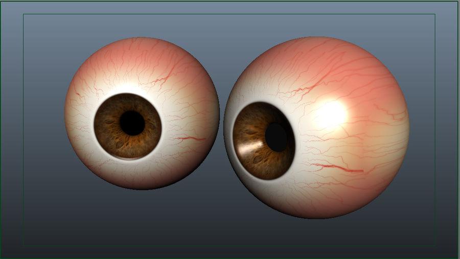 Eye_ball royalty-free 3d model - Preview no. 3