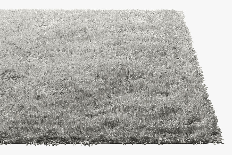 Tapis à poils longs royalty-free 3d model - Preview no. 8