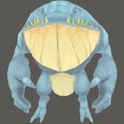 Creatura acquatica 3d model