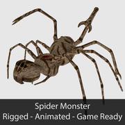 스파이더 몬스터-게임 준비 3d model