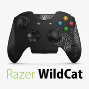 Razer Wildcat控制器 3d model