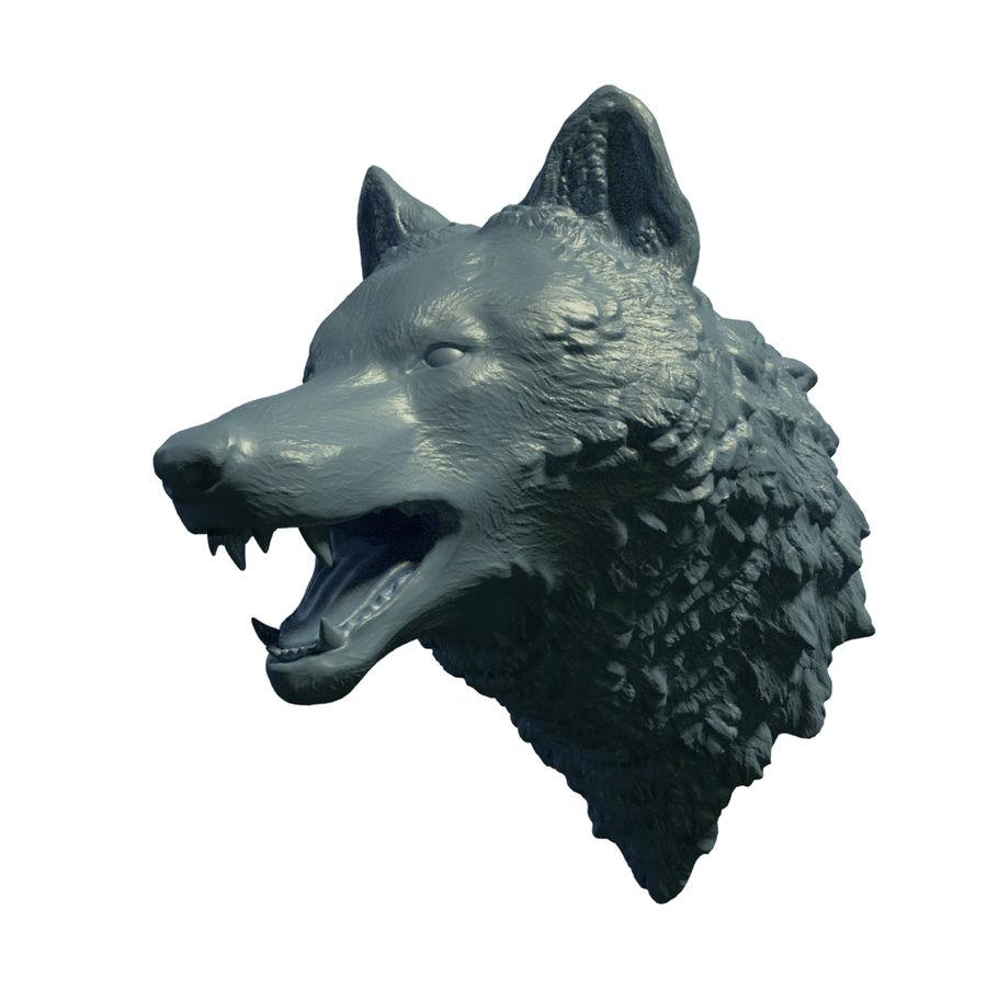 Kurt kafası royalty-free 3d model - Preview no. 1