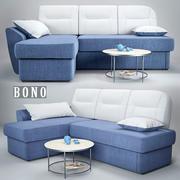 sofa Bono Optima 3d model