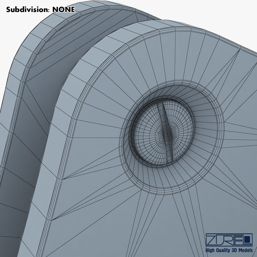 Gear mechanism v 5 royalty-free 3d model - Preview no. 43