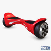 Hx X1 Hög röd 3d model