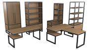 Loft furniture 3d model
