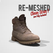 Timberland Re-meshed Scan 3d model