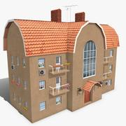 Building Apartment 1 3d model