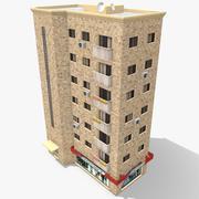 Building Apartment 4 3d model