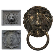 Three old bas-relief 3d model