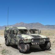 Humvee militare 3d model