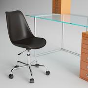 Mobiliario de oficina Habitat modelo 3d