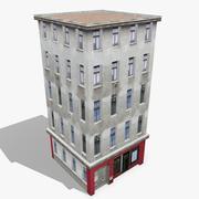 Budynek Mieszkanie 11 3d model