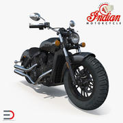 Motorfiets Indian Scout Sixty 2016 3d model