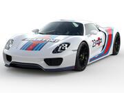 Porsche 918 Spyder Martini 3d model