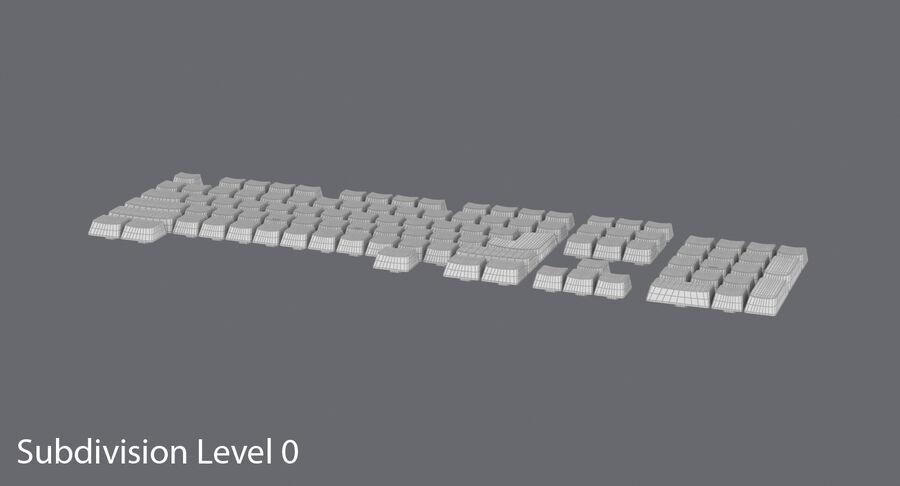 Computer Keys royalty-free 3d model - Preview no. 12