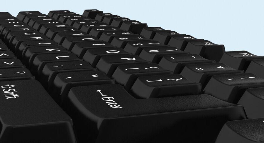 Computer Keys royalty-free 3d model - Preview no. 10