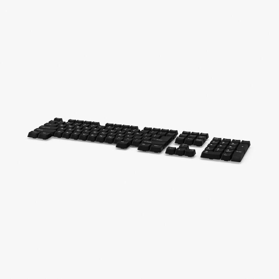 Computer Keys royalty-free 3d model - Preview no. 1