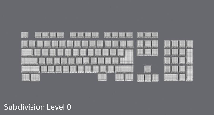 Computer Keys royalty-free 3d model - Preview no. 13
