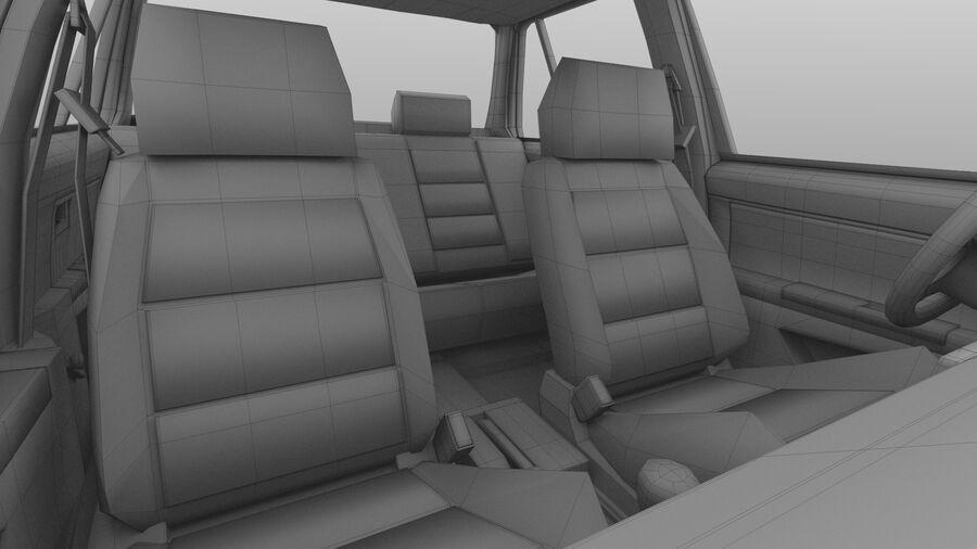 Generic car (Sedan) royalty-free 3d model - Preview no. 35