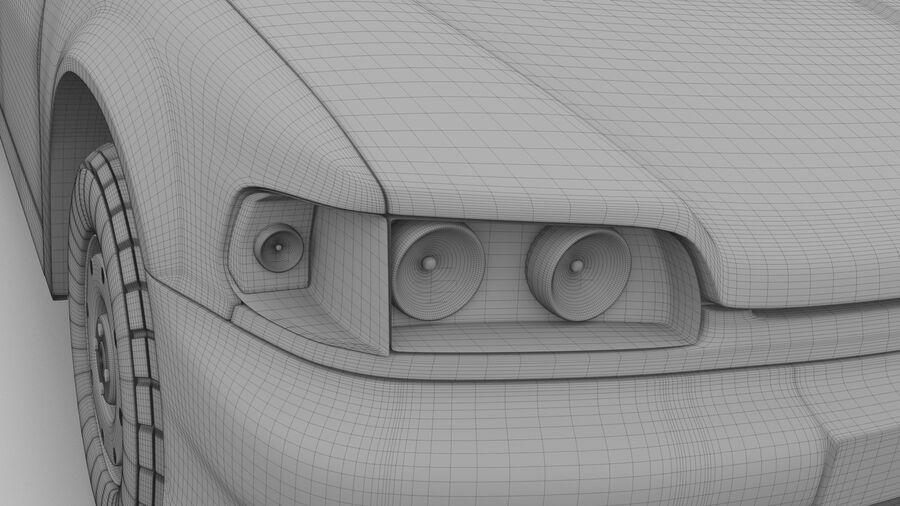 Generic car (Sedan) royalty-free 3d model - Preview no. 20