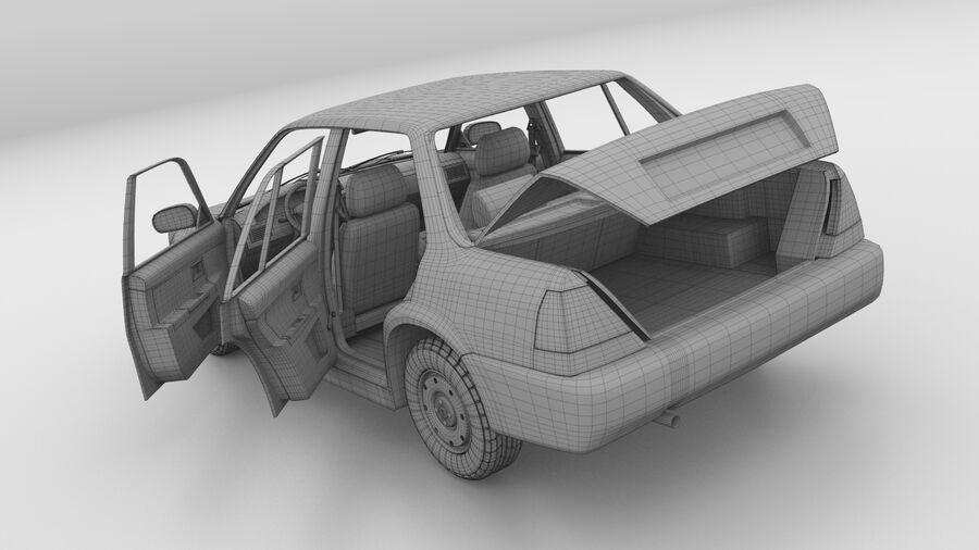Generic car (Sedan) royalty-free 3d model - Preview no. 25