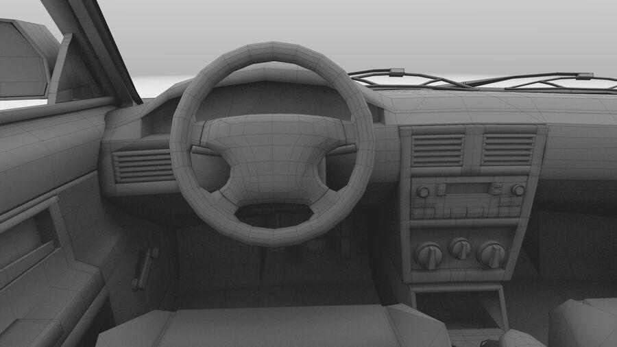 Generic car (Sedan) royalty-free 3d model - Preview no. 41