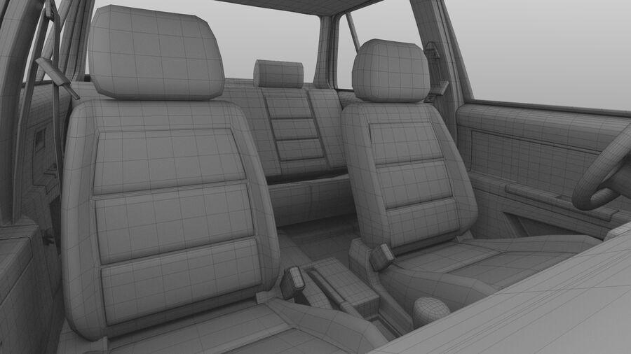 Generic car (Sedan) royalty-free 3d model - Preview no. 36