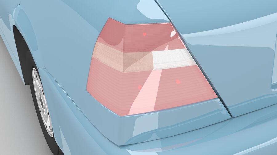 Generic car (Sedan) royalty-free 3d model - Preview no. 8