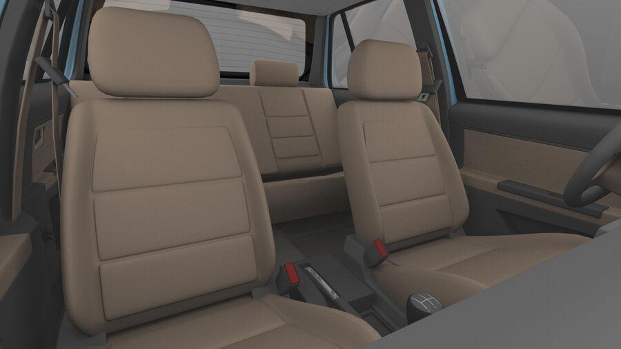 Generic car (Sedan) royalty-free 3d model - Preview no. 9