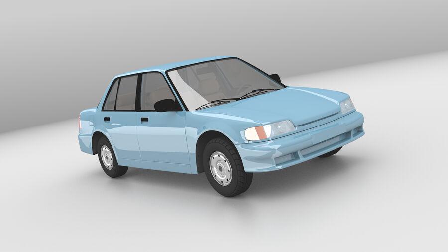 Generic car (Sedan) royalty-free 3d model - Preview no. 1