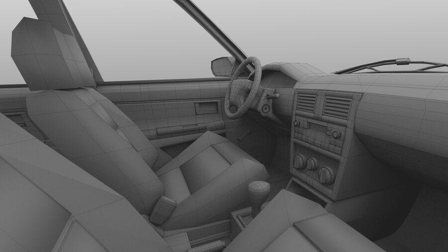 Generic car (Sedan) royalty-free 3d model - Preview no. 44
