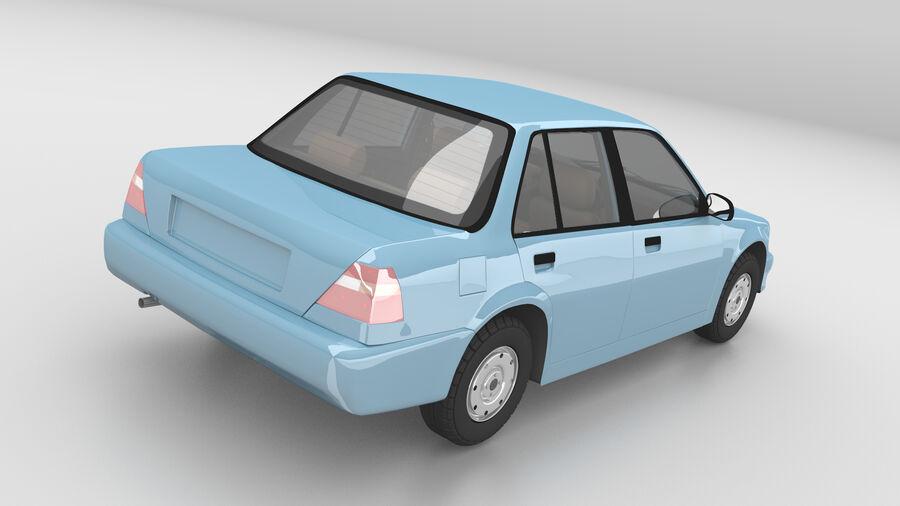 Generic car (Sedan) royalty-free 3d model - Preview no. 6