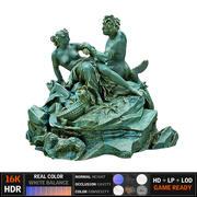 Satyr Statue 3d model