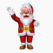 Santa Claus Rigged (CATRIG) 3d model