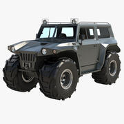 Cross-Country Vehicle 3d model