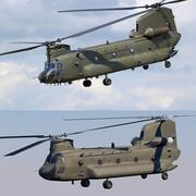 CHINOOK CH-47 3d model