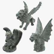 Gargoyle Collection 3d model