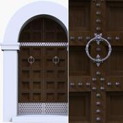 Porta antica 3d model