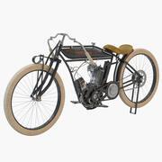 1915 Indisk singel 3d model