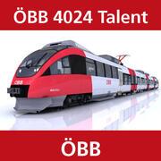 OEBB 4024人才 3d model