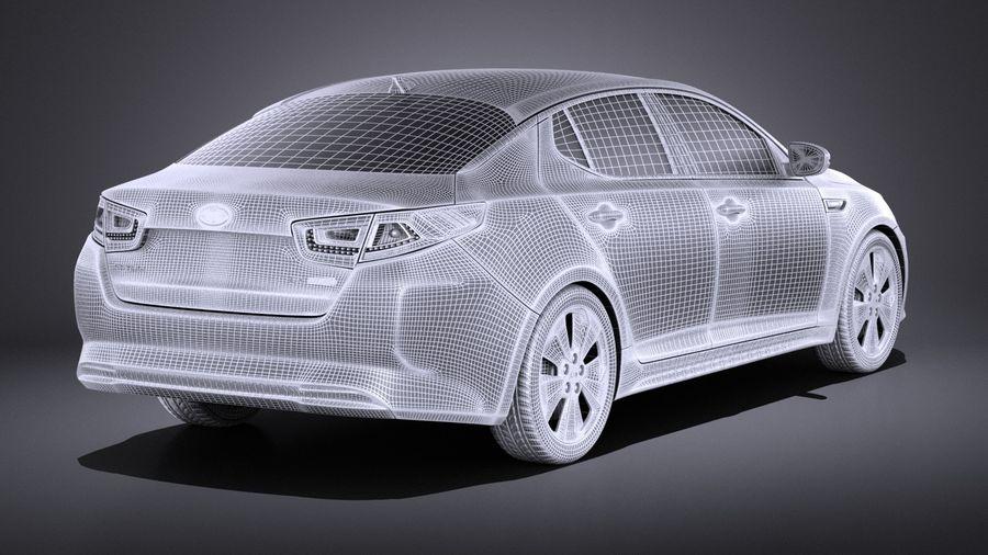 Kia Optima Hybrid 2016 VRAY royalty-free 3d model - Preview no. 14