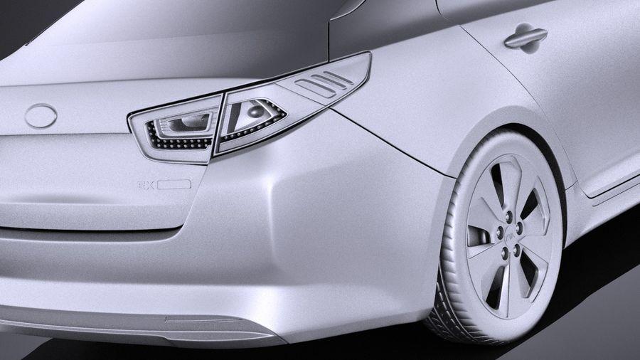 Kia Optima Hybrid 2016 VRAY royalty-free 3d model - Preview no. 11